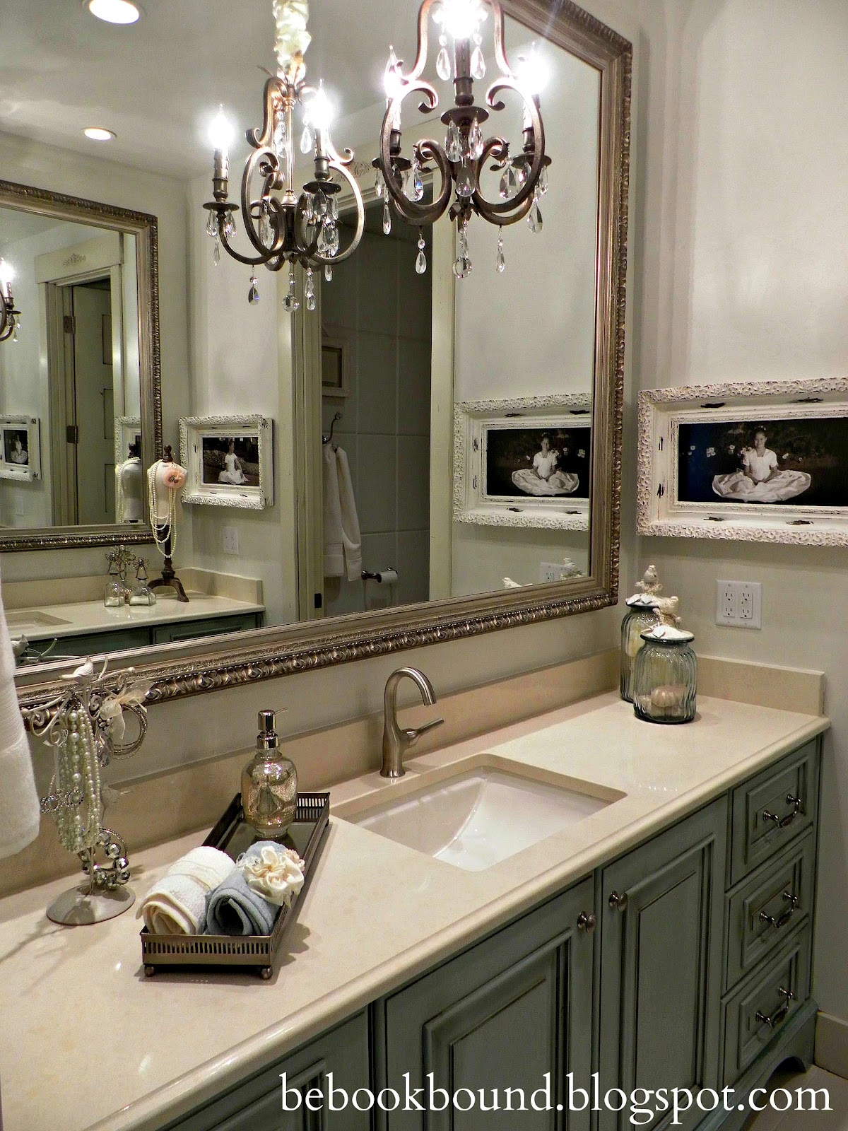 Chandelier For Bathroom Home Design Ideas Pertaining To Chandelier In The Bathroom (#9 of 12)
