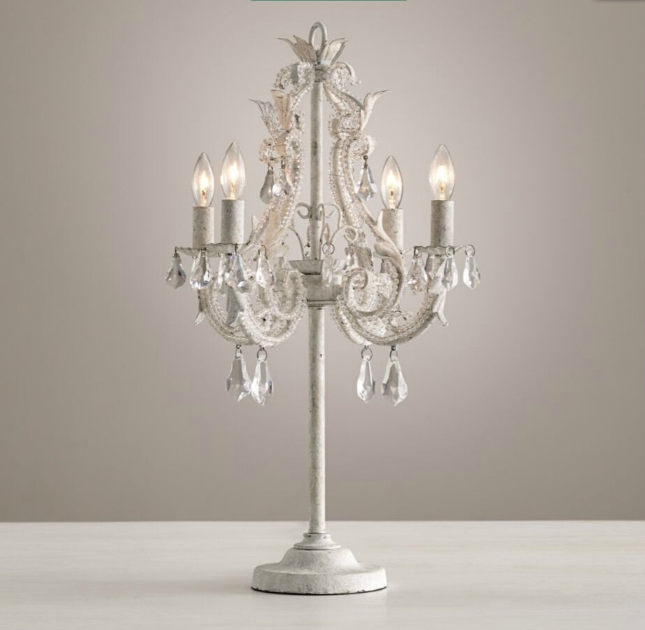 Chandelier Lamp Table Crystal Chandelier Table Lamps In Interior With Crystal Table Chandeliers (#4 of 12)