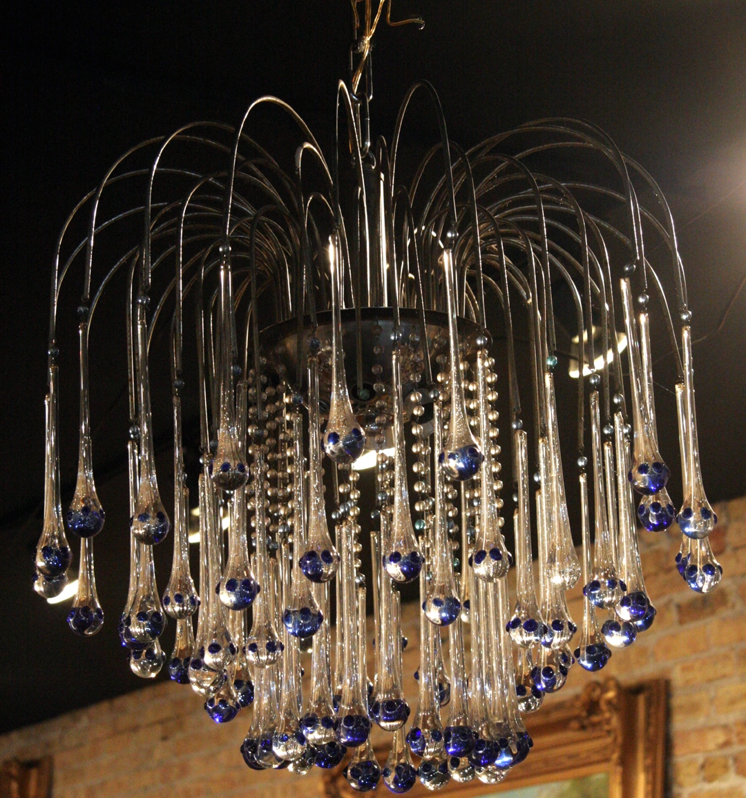 Chandelier Regarding French Glass Chandelier (#4 of 12)