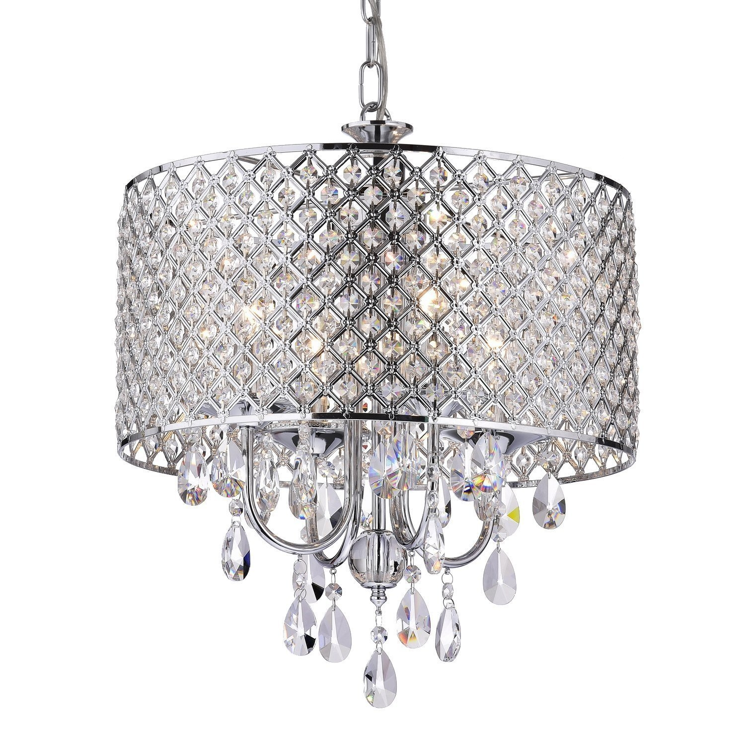 Chandeliers Amazon Lighting Ceiling Fans Ceiling Lights Intended For Small Chandeliers For Low Ceilings (#4 of 12)