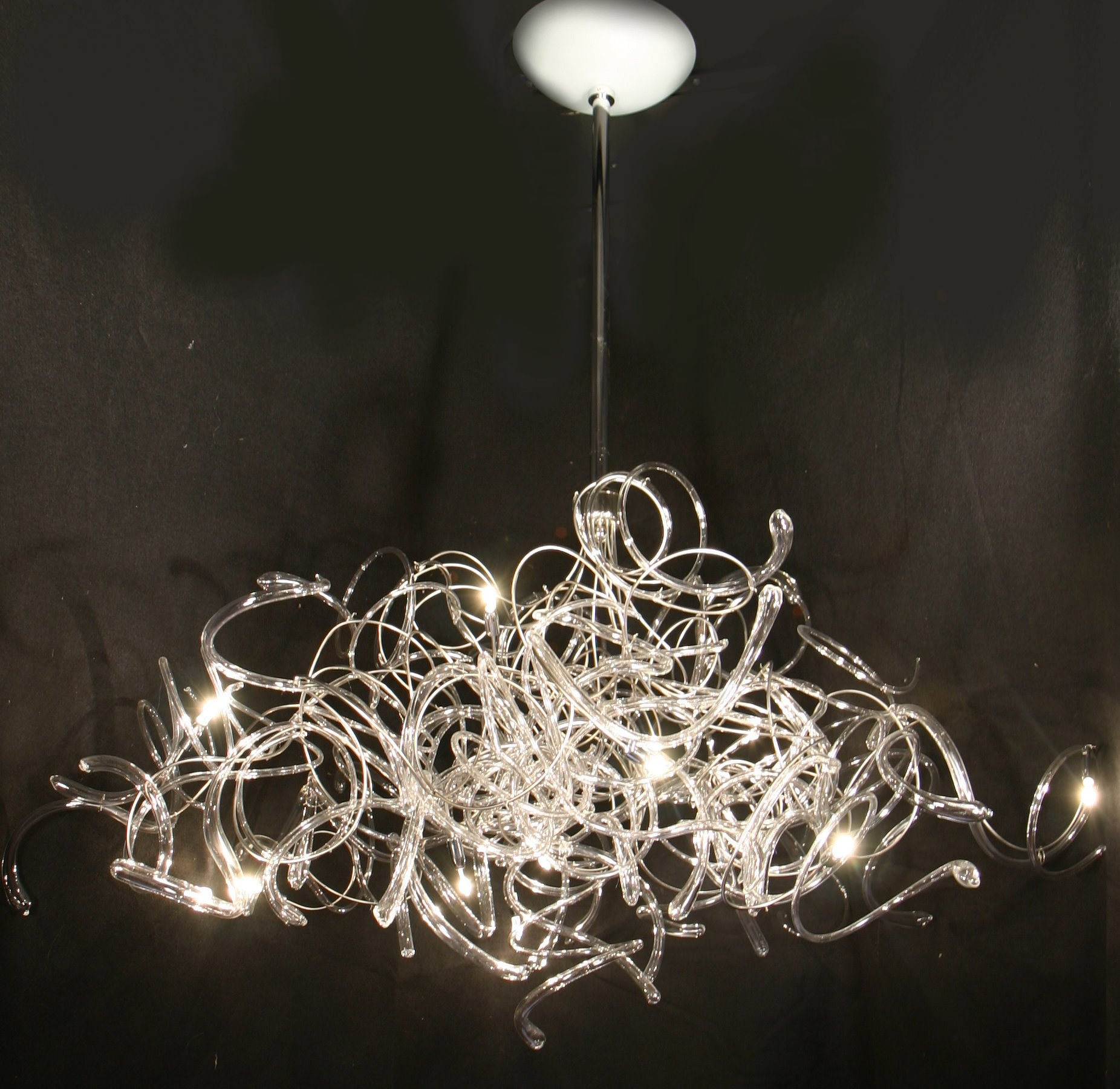 Chandeliers Contemporary Modern In Contemporary Modern Chandelier (#8 of 12)