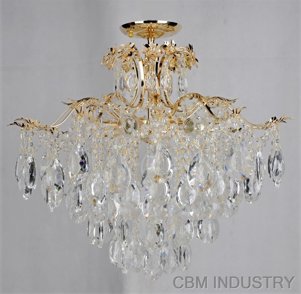 Chandeliers For Low Ceilings Lightupmyparty Throughout Low Ceiling Chandeliers (#5 of 12)