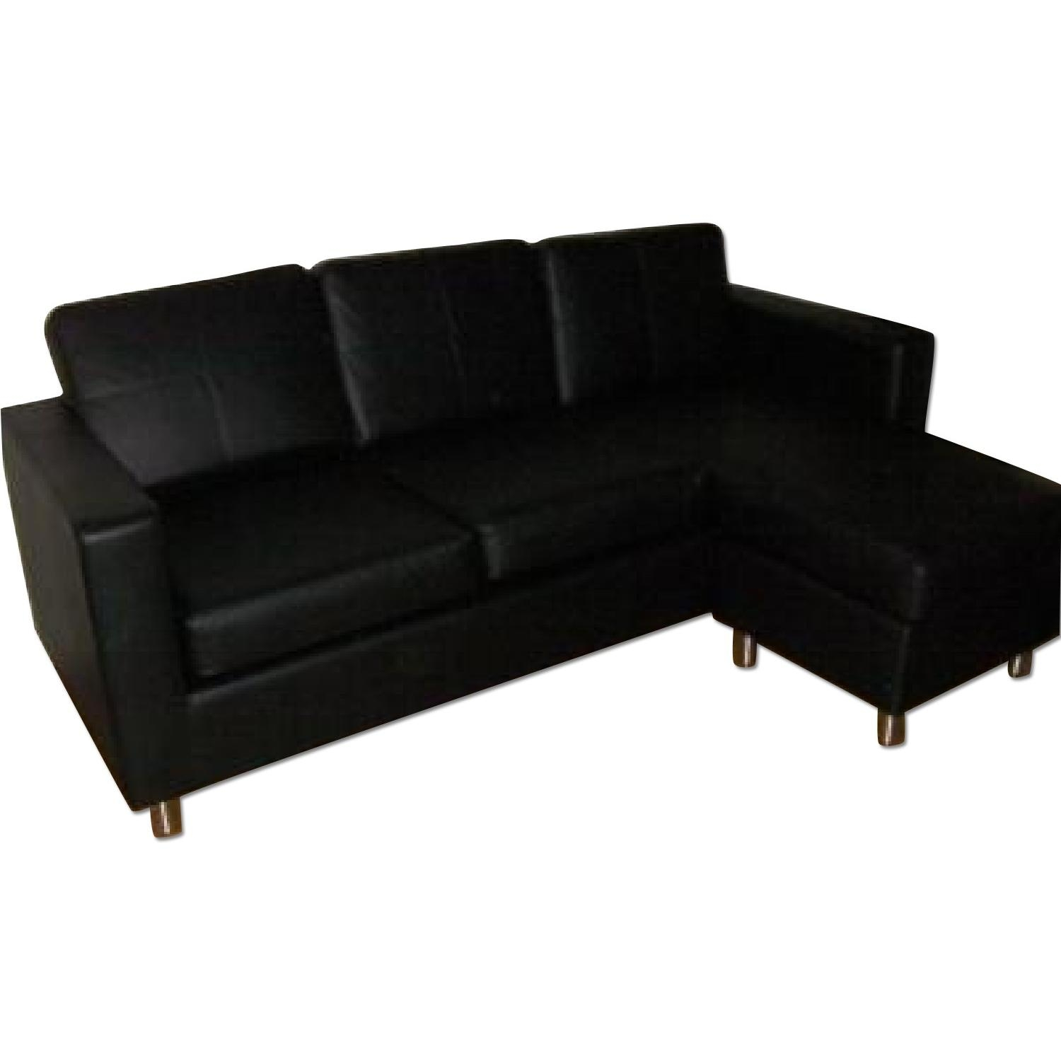12 Best Ideas Of Black Sectional Sofa For Cheap