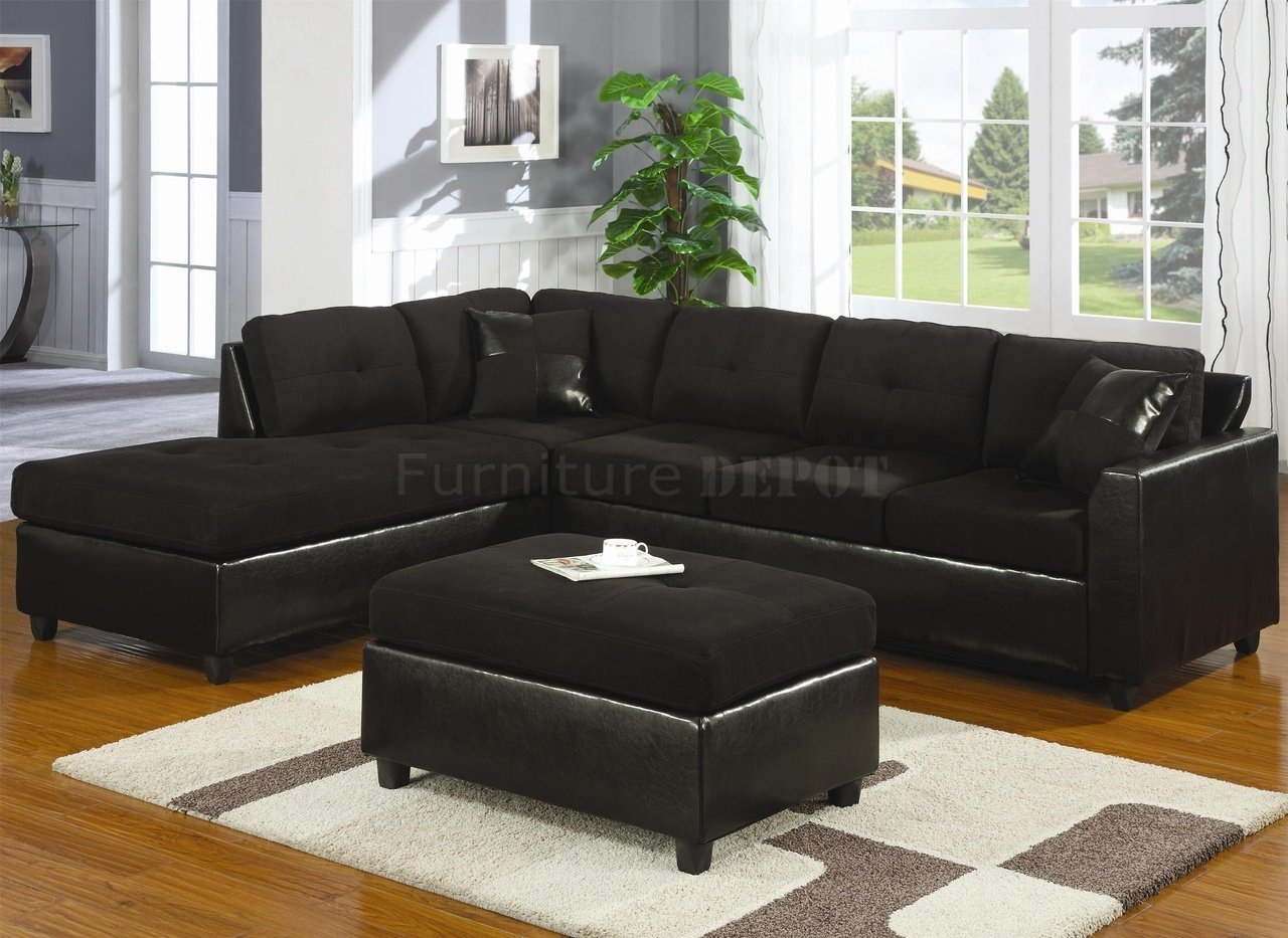 Cheap Black Sectional Sofa Tourdecarroll With Regard To Black Sectional Sofa For Cheap (#6 : cheap black sectional - Sectionals, Sofas & Couches