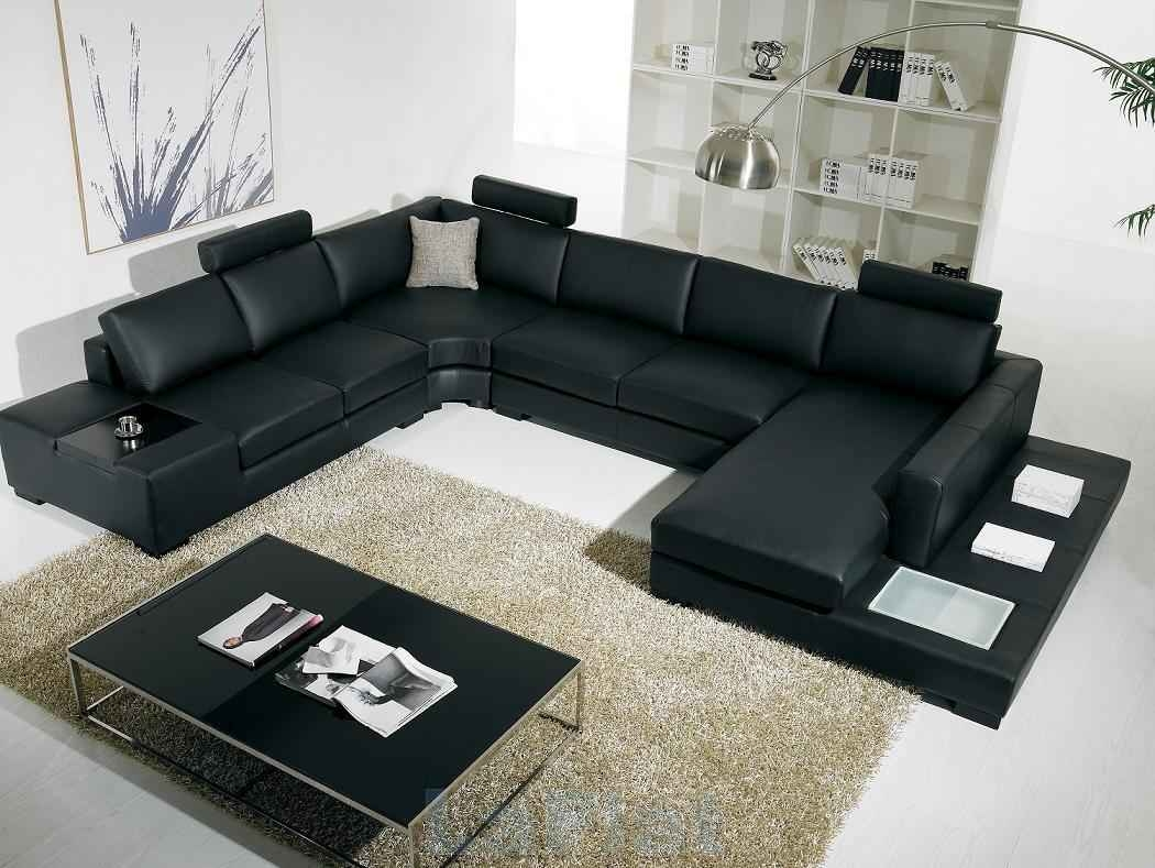 Cheap Black Sectional Sofas Cleanupflorida Within Black Sectional Sofa For Cheap (#8 of 12)