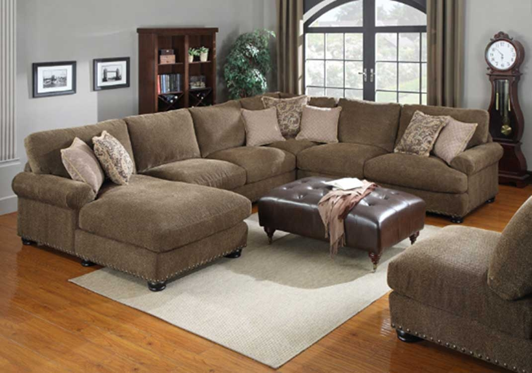 12 Best Of Chenille And Leather Sectional Sofa