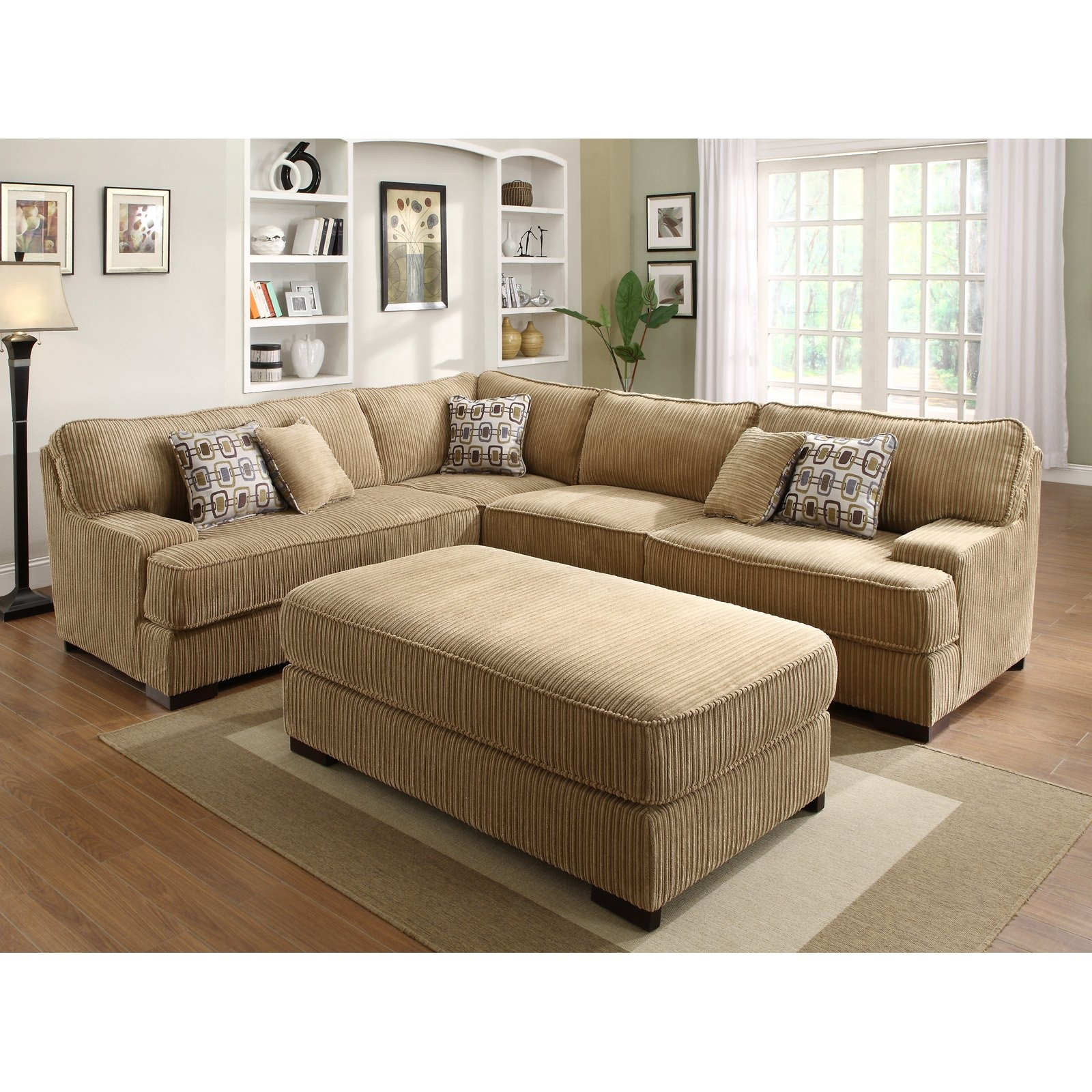 Chenille Sectional Sofas Cleanupflorida Within Chenille Sectional Sofas (#6 of 12)