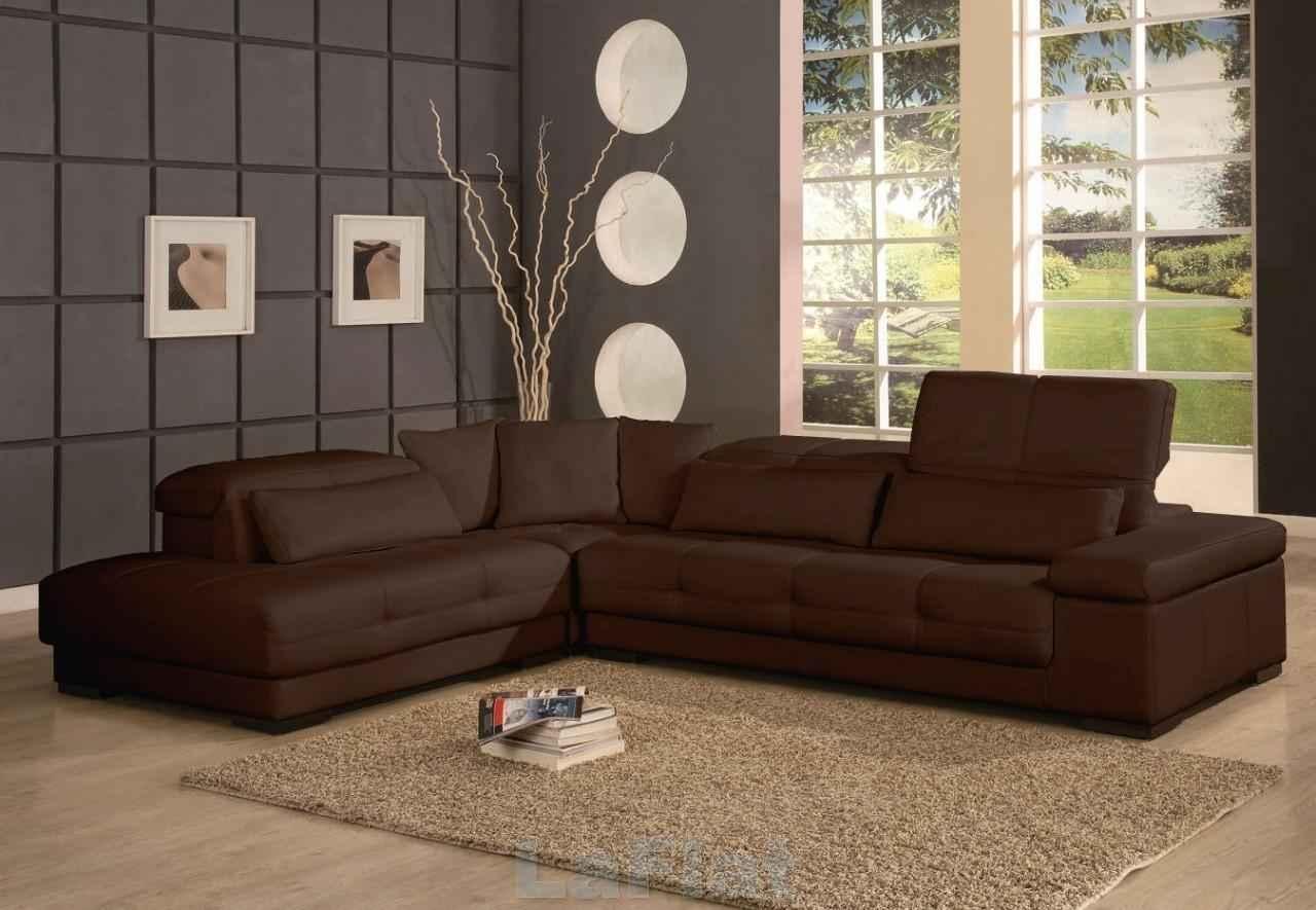 Chocolate Brown Sectional Sofa Sofa Menzilperde In Chocolate Brown Sectional Sofa (#5 of 12)