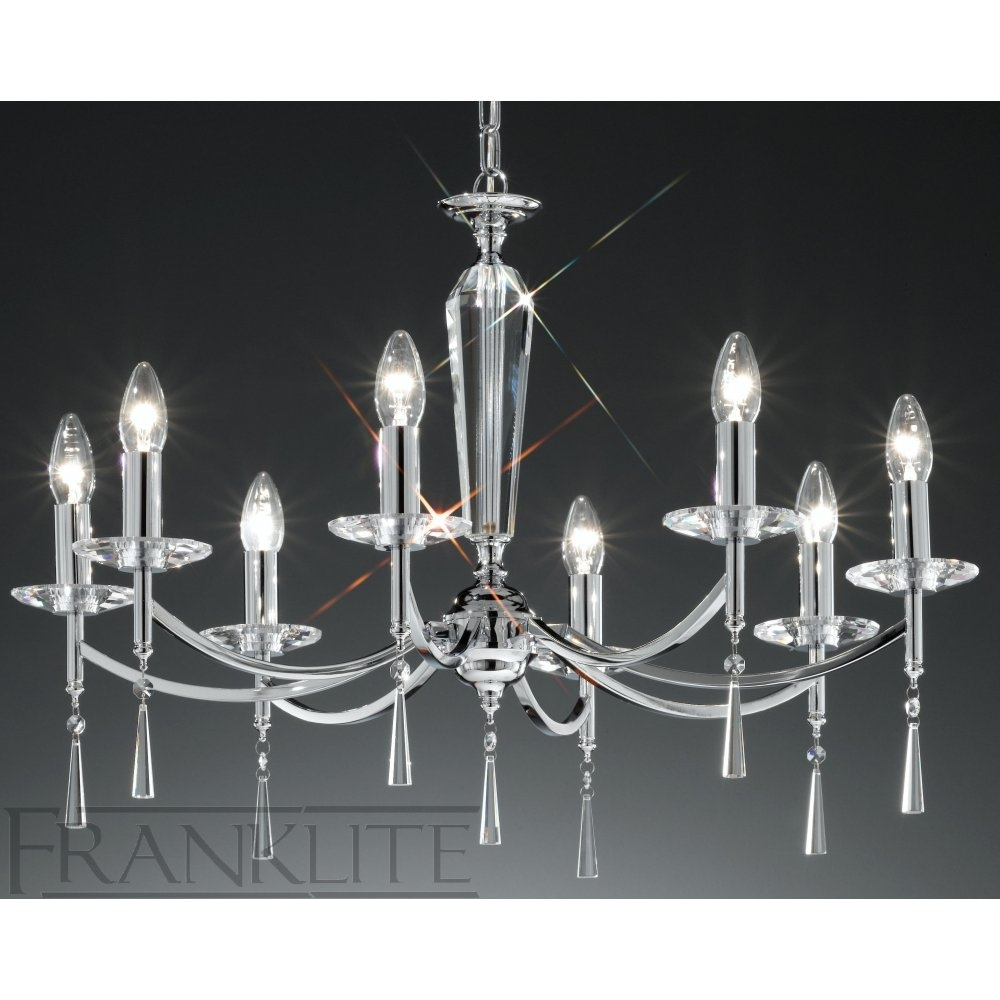 Chrome Chandelier For Chrome Chandeliers (#6 of 12)