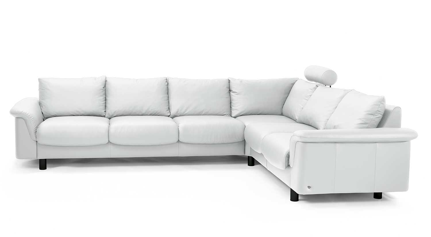 Circle Furniture E300 Ekornes Sectional Designer Sectionals Ma Pertaining To Ekornes Sectional Sofa (#1 of 12)
