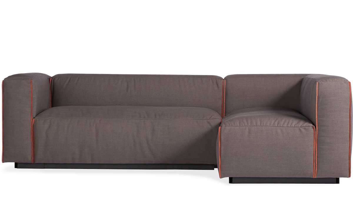 Cleon Small Sectional Sofa Hivemodern With Small Sectional Sofa (#2 of 12)