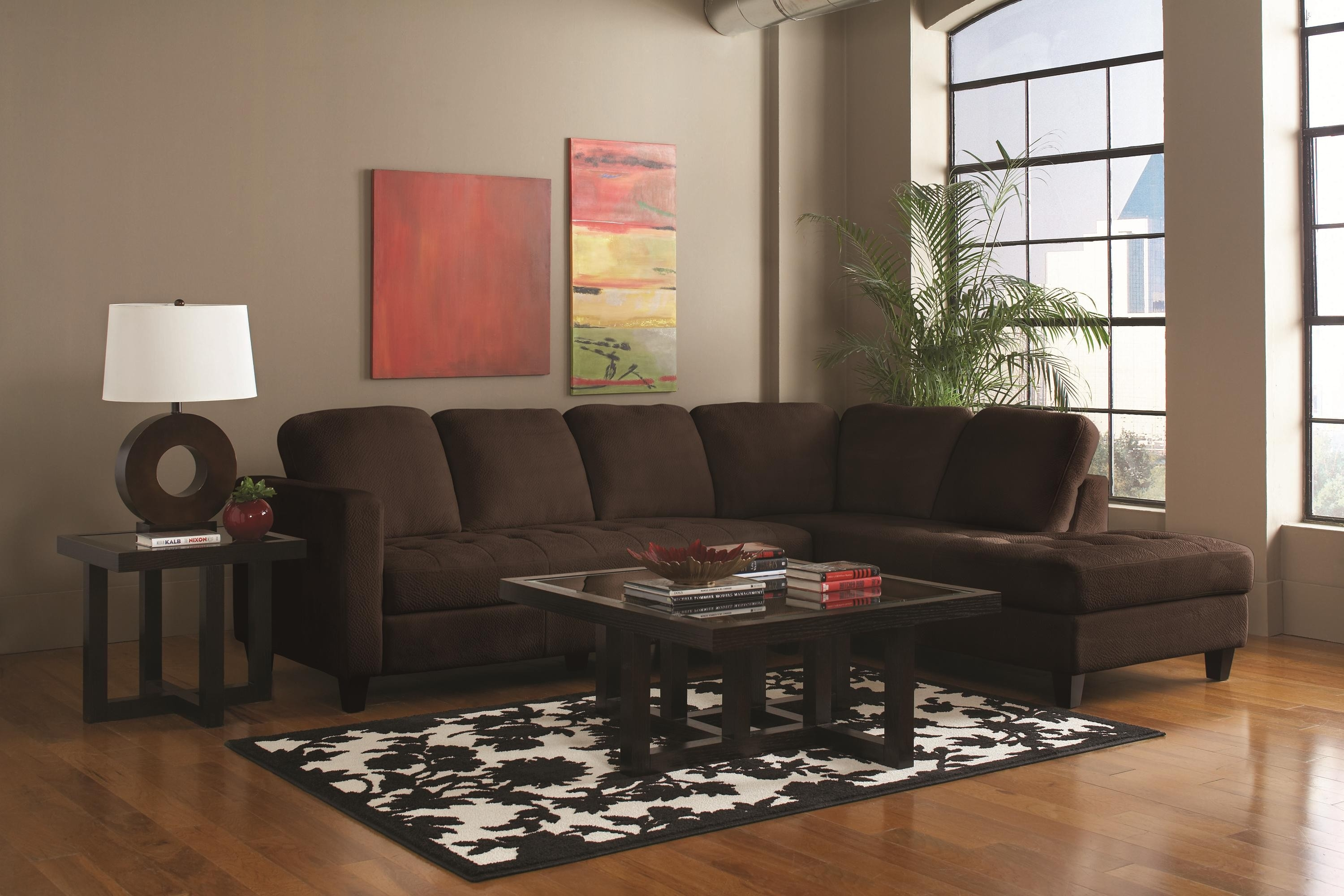 Popular Photo of Coffee Table For Sectional Sofa With Chaise