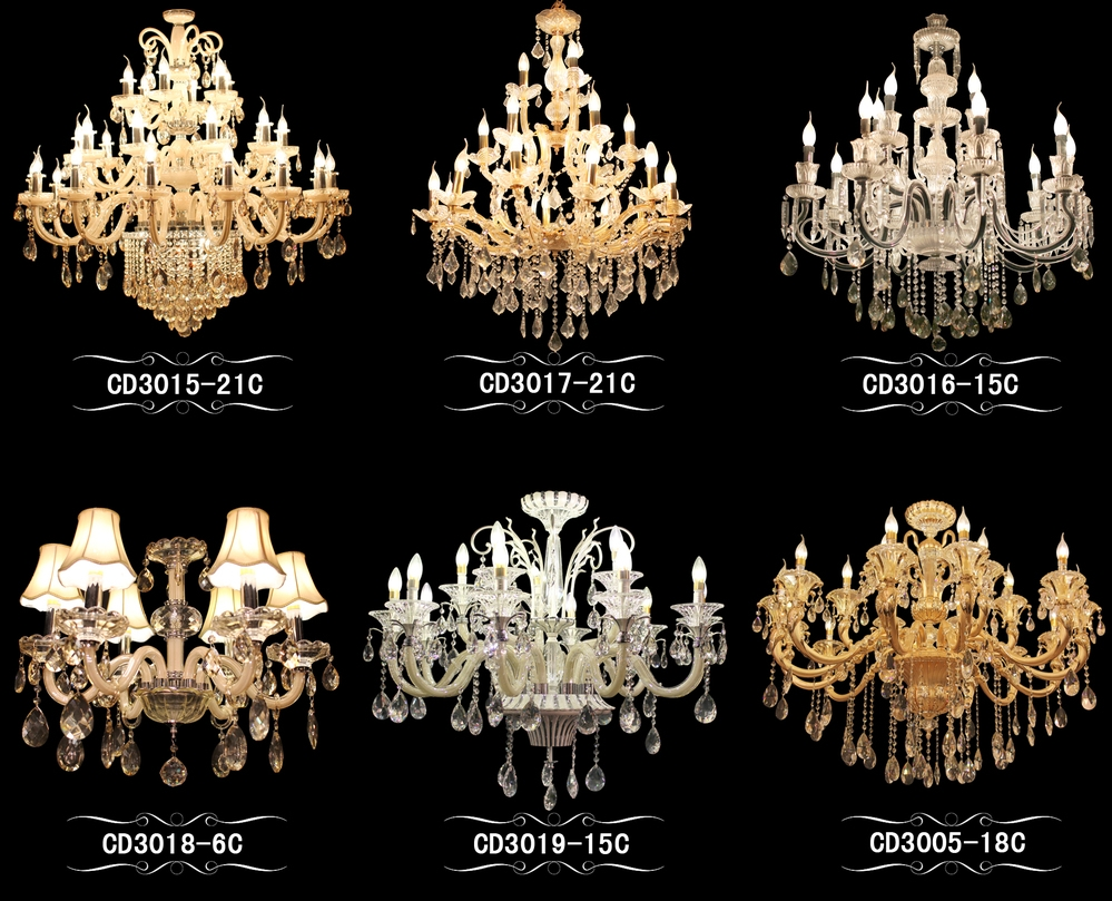Colorful Crystal Chandelier Chinese Crystal Parts For Chandelier With Chinese Chandelier (#7 of 12)