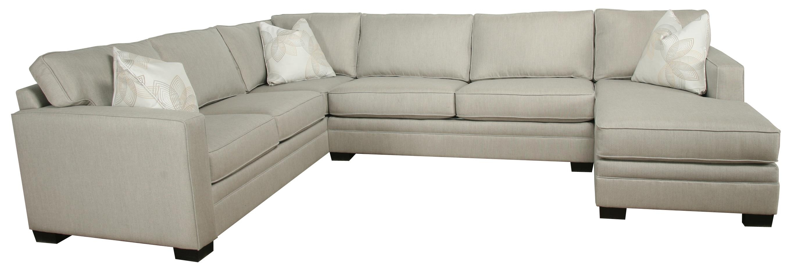 Contemporary 3 Piece Sectional With Chaise Bauhaus Wolf And Intended For Bauhaus Sectional Sofas (#9 of 12)