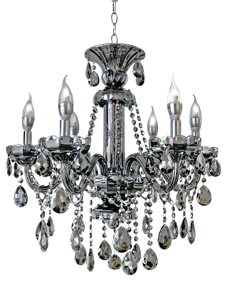 Contemporary Bronze Chandelier Black Crystal Chandelier Metal Intended For Contemporary Black Chandelier (#10 of 12)