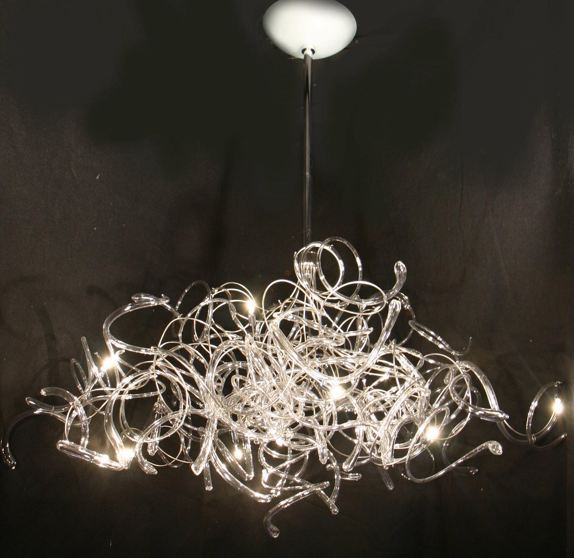Contemporary Lighting Chandeliers Regarding Contemporary Chandelier (#10 of 12)