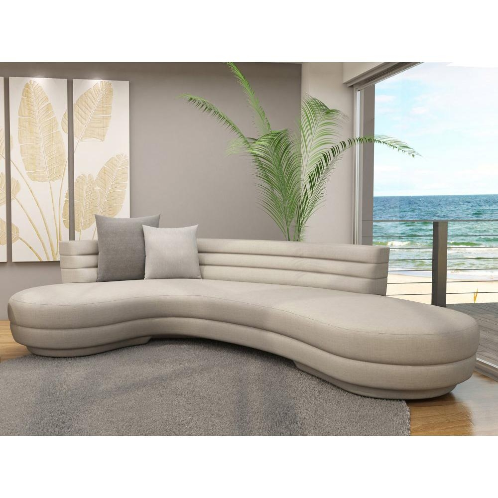 Contemporary Round Sectional Sofa Sofa Menzilperde For Contemporary Curved Sofas (View 4 of 12)