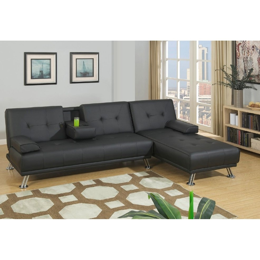 Convertible Sectional Sofas Youll Love Wayfair Inside Convertible Sectional Sofas (#5 of 12)