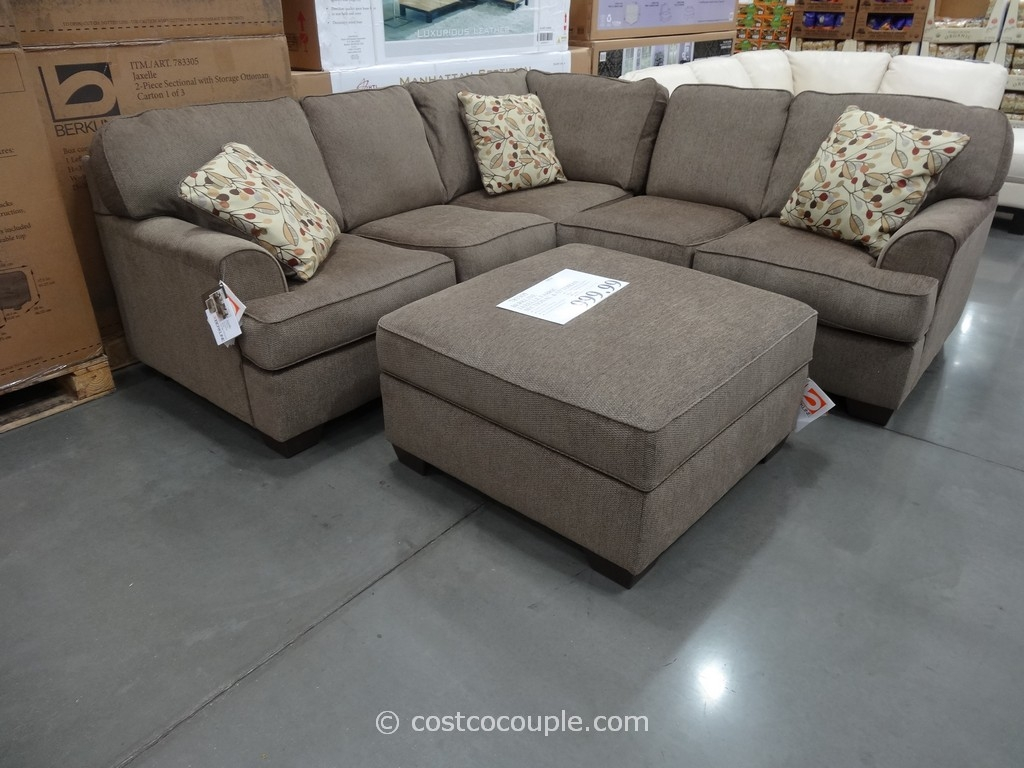 Cool Sectional Sofa With Chaise Costco 68 About Remodel Down With Down Feather Sectional Sofa (#1 of 12)