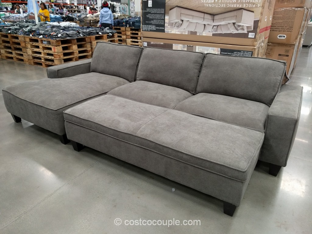 Cool Sectional Sofa With Chaise Costco 68 About Remodel Down With Regard To Down Feather Sectional Sofa (#2 of 12)