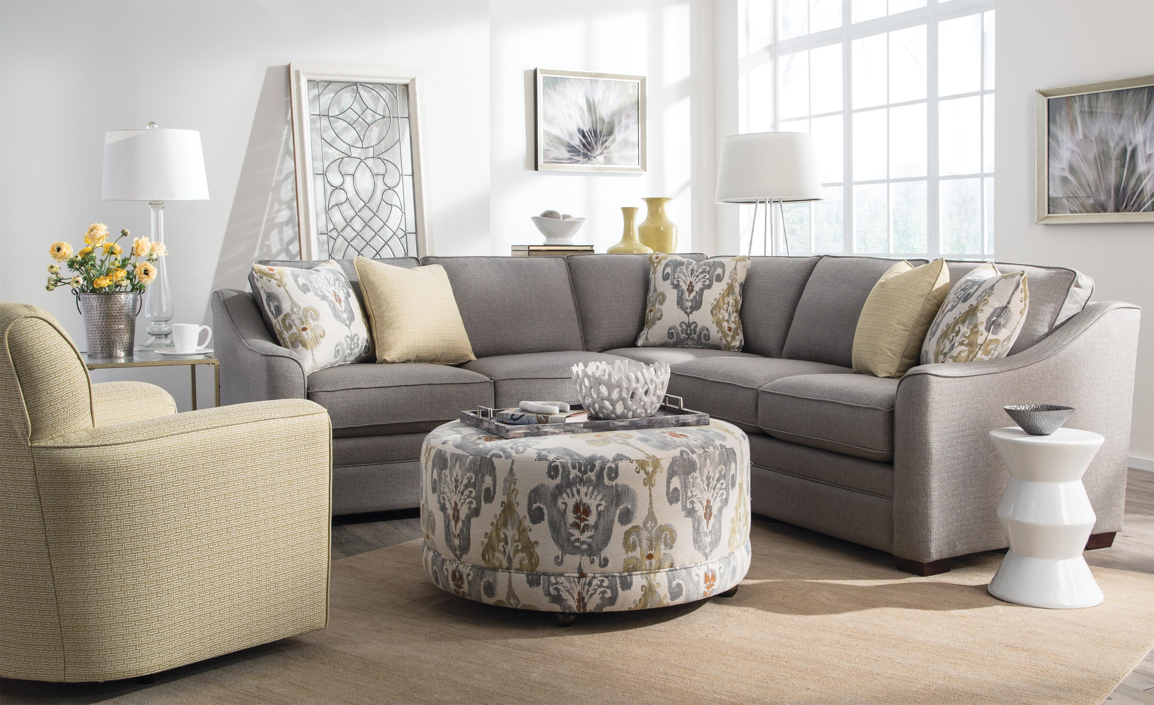 Craftmaster F9 Design Options Four Piece Bcustomizableb For Craftmaster Sectional Sofa (#6 of 12)