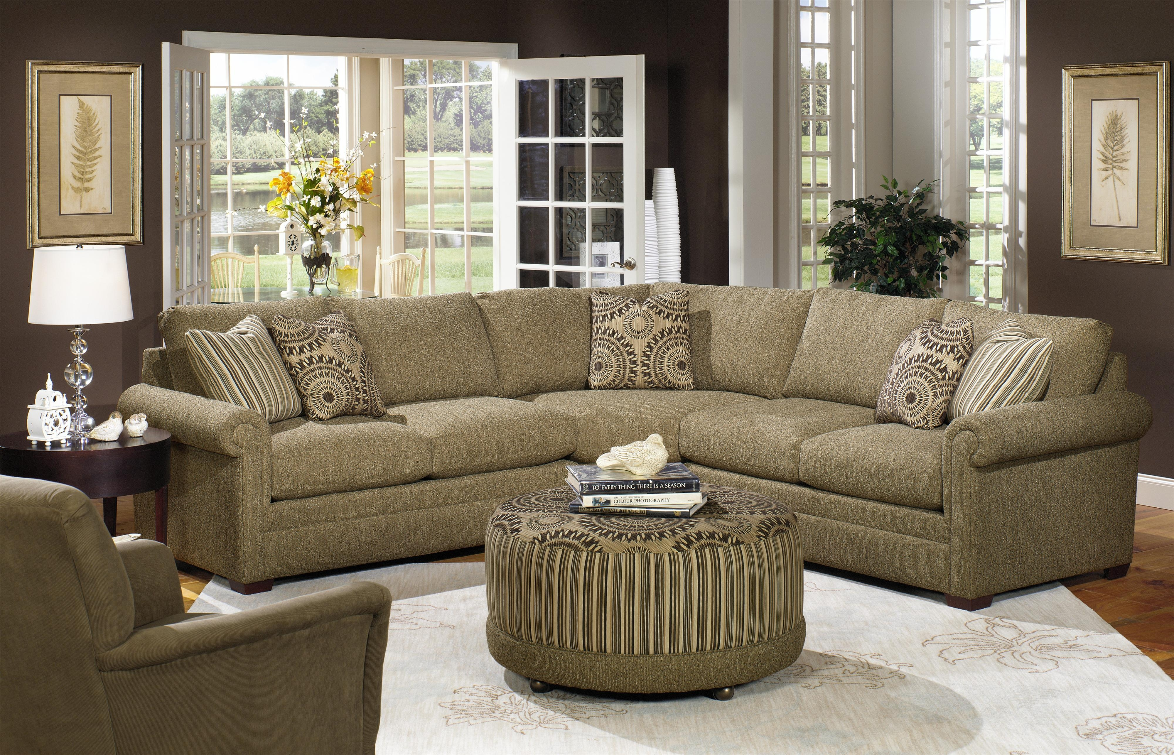 Popular Photo of Craftmaster Sectional Sofa