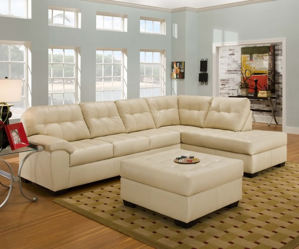 Cream Sectional Sofa Roselawnlutheran Living Room Ideas Brown Intended For Cream Colored Sofas (#5 of 12)