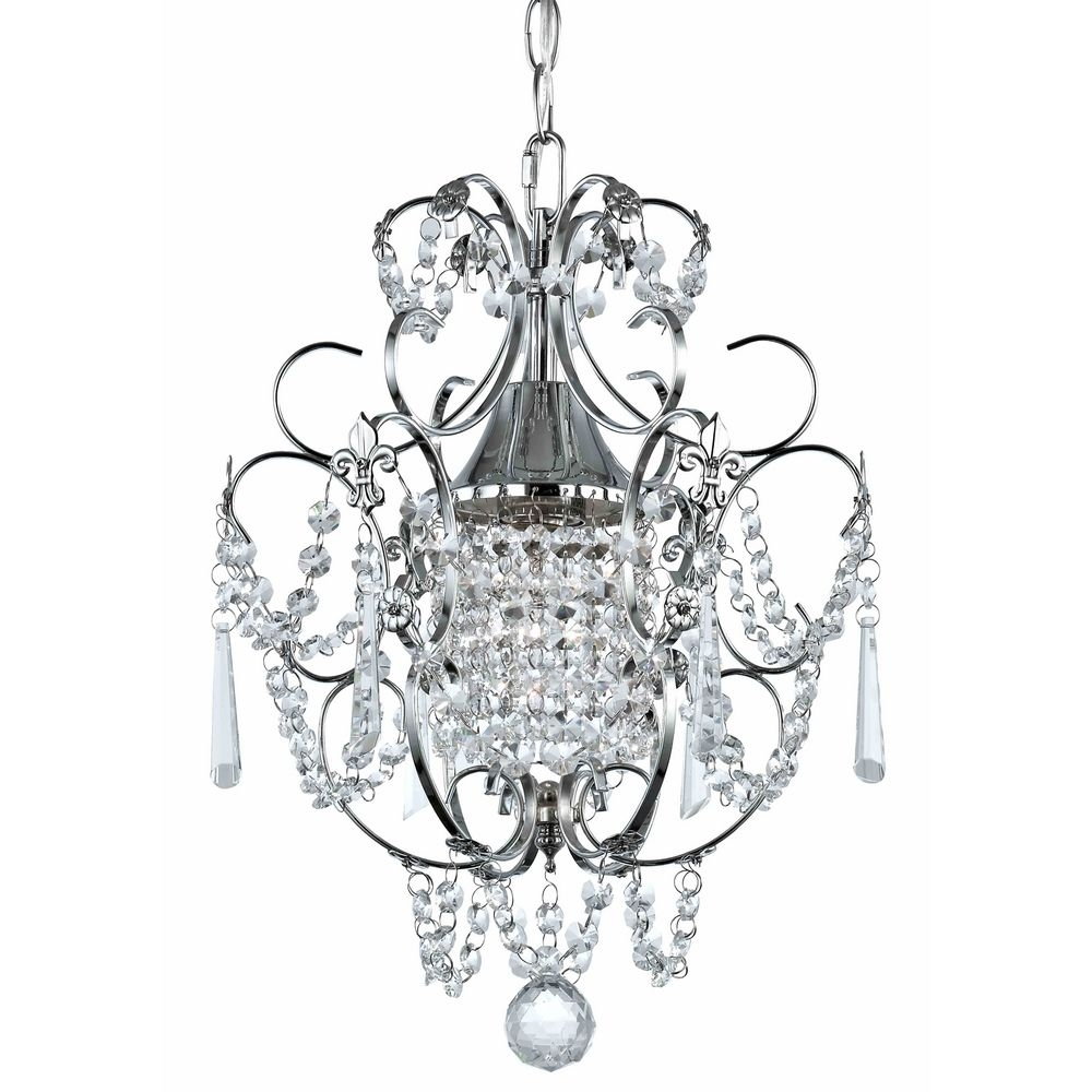 Creative Of Small Chandelier Lights Lighting 1175015 Starburst 15 Regarding Small Chrome Chandelier (#8 of 12)