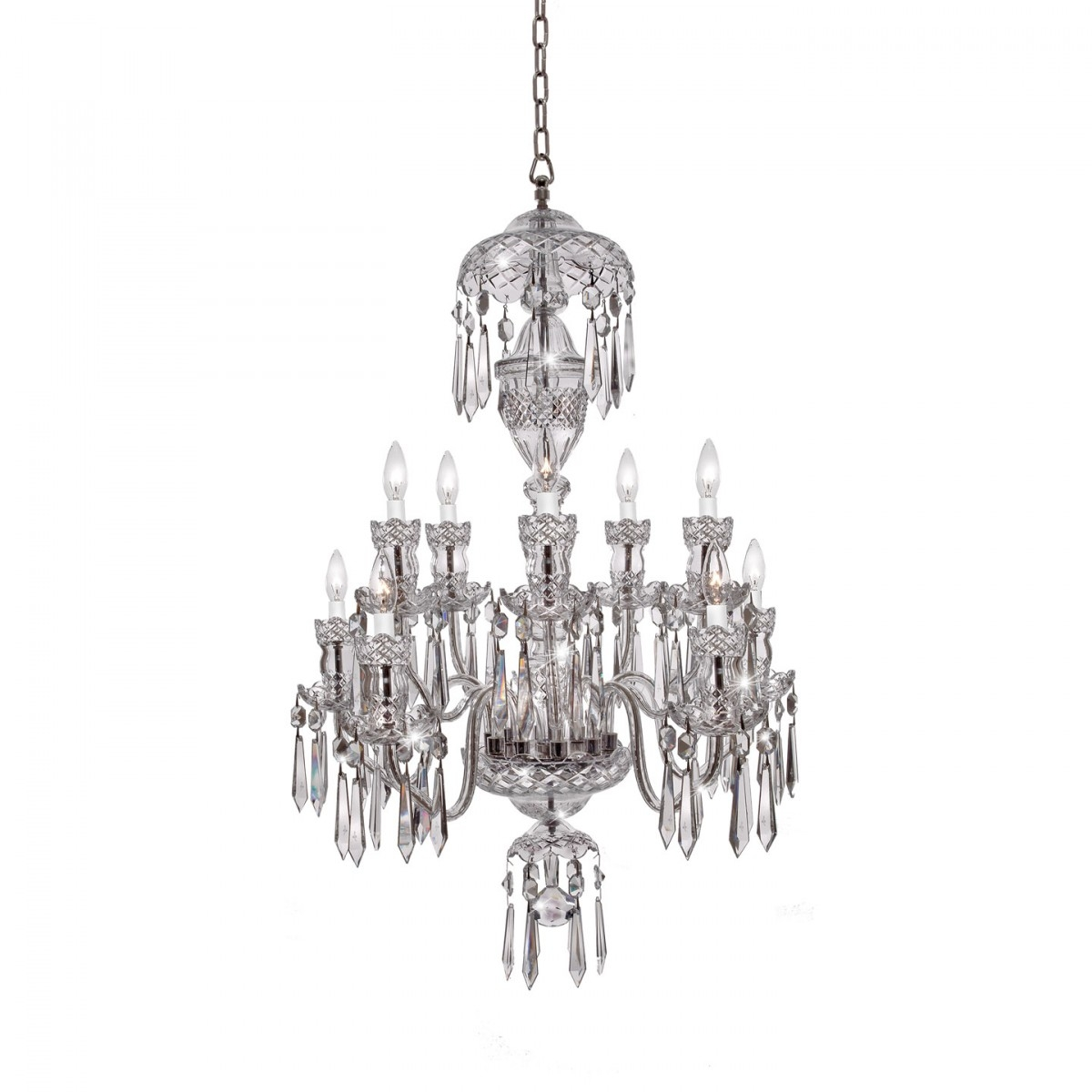Crystal Chandeliers Lighting Waterford Official Us Site With Lead Crystal Chandeliers (#7 of 12)
