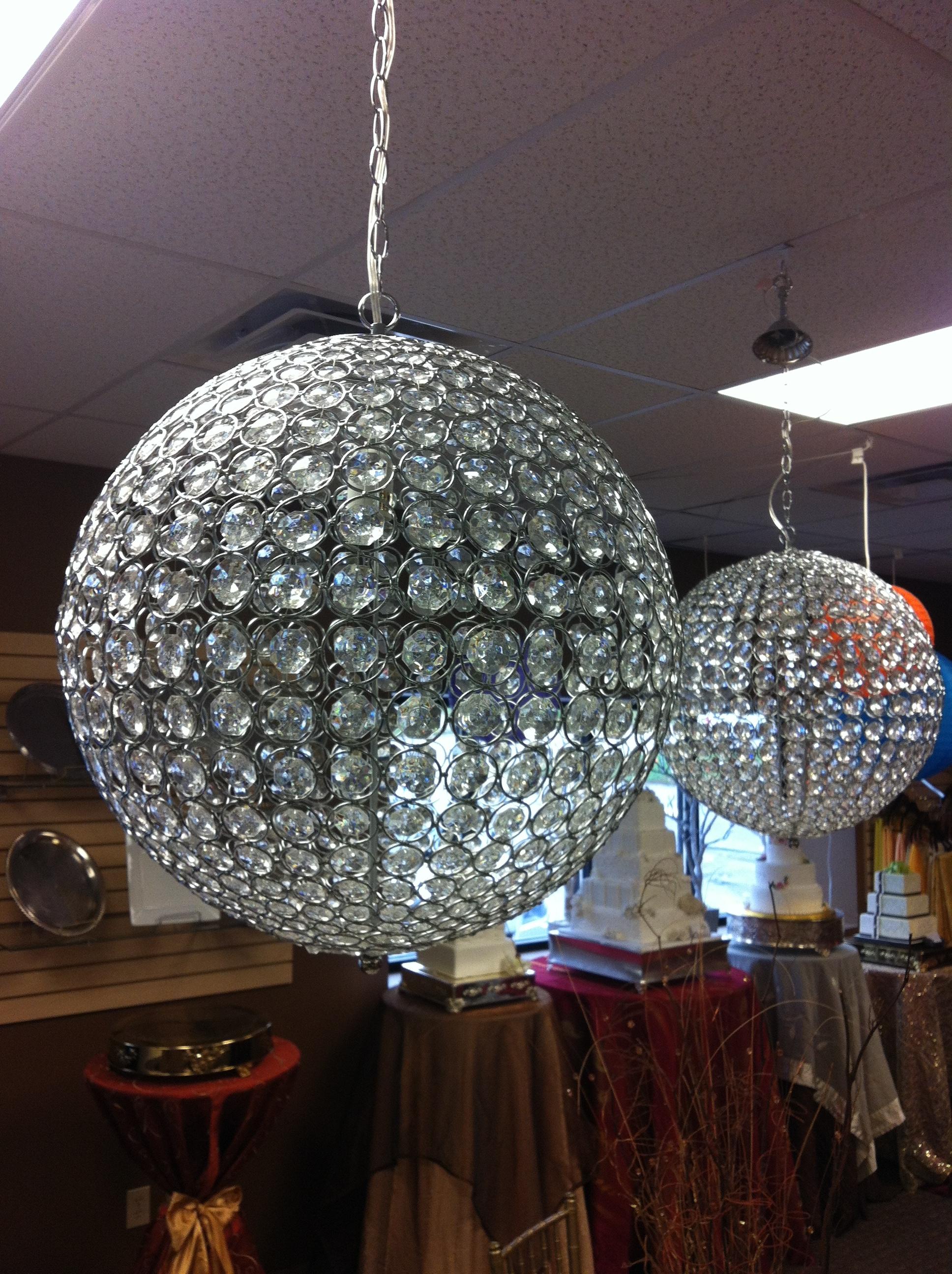 Crystal Globe Chandelier Throughout Globe Crystal Chandelier (#8 of 12)