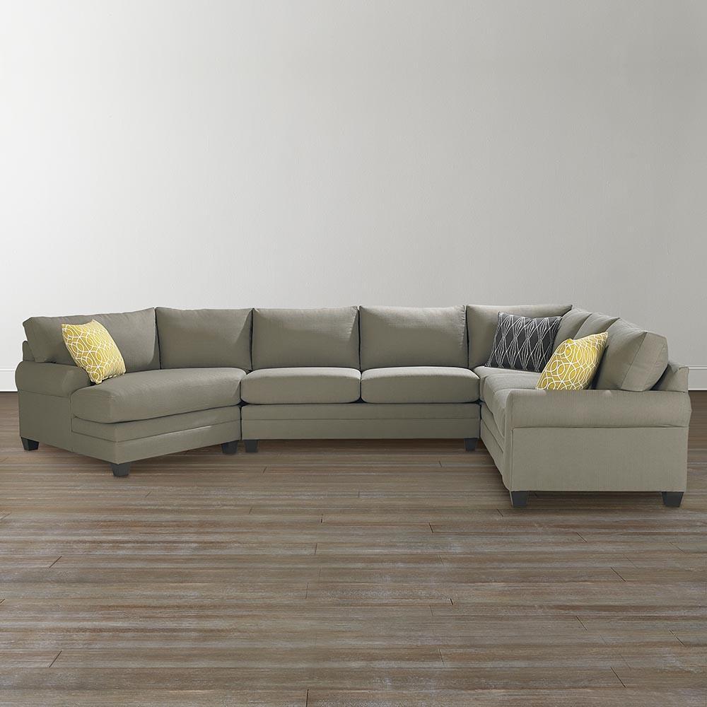 Popular Photo of Cuddler Sectional Sofa