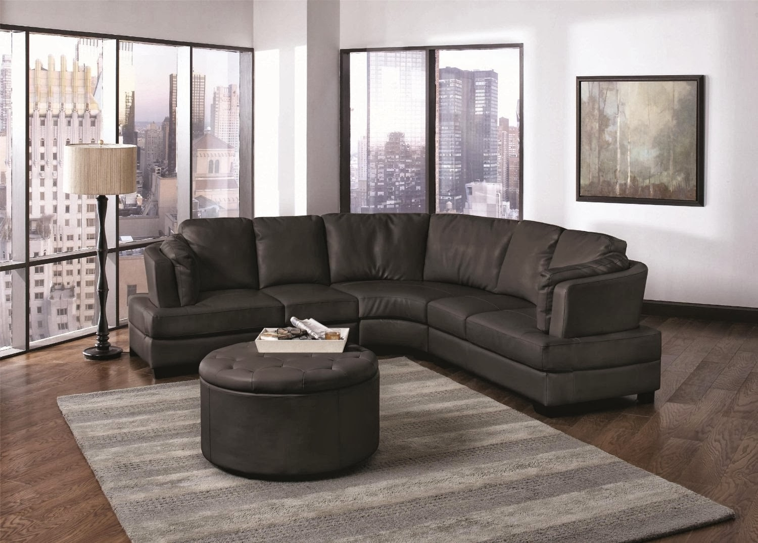 Curved Sectional Sofa With Recliner Cleanupflorida Intended For Curved Sectional Sofa With Recliner (#3 of 12)