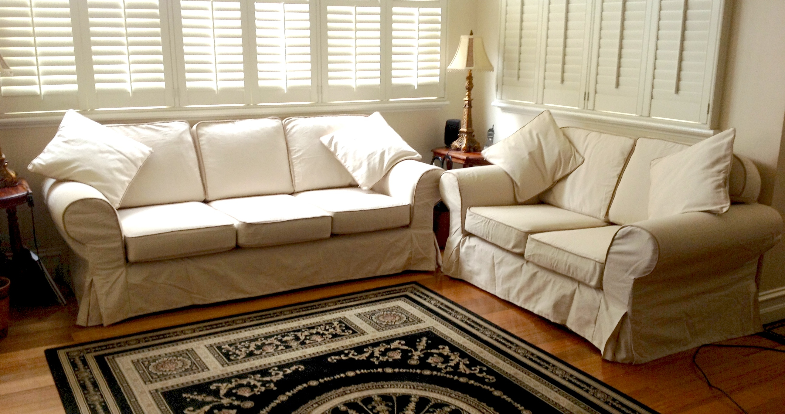 Custom Slipcovers And Couch Cover For Any Sofa Online For Custom Made Sectional Sofas (#7 of 12)