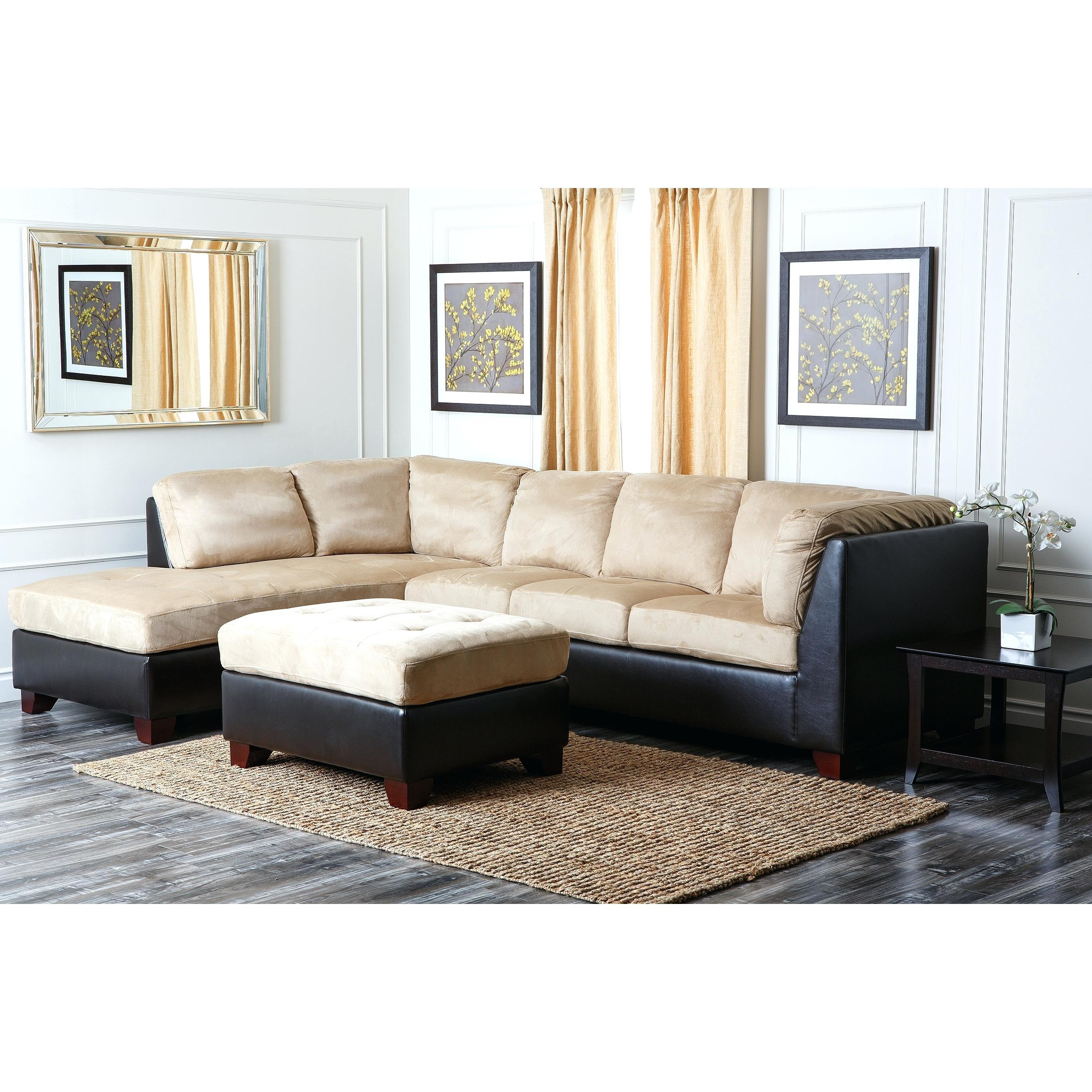 12 ideas of abbyson living charlotte dark brown sectional for Barcelona sectional sofa ottoman in beige