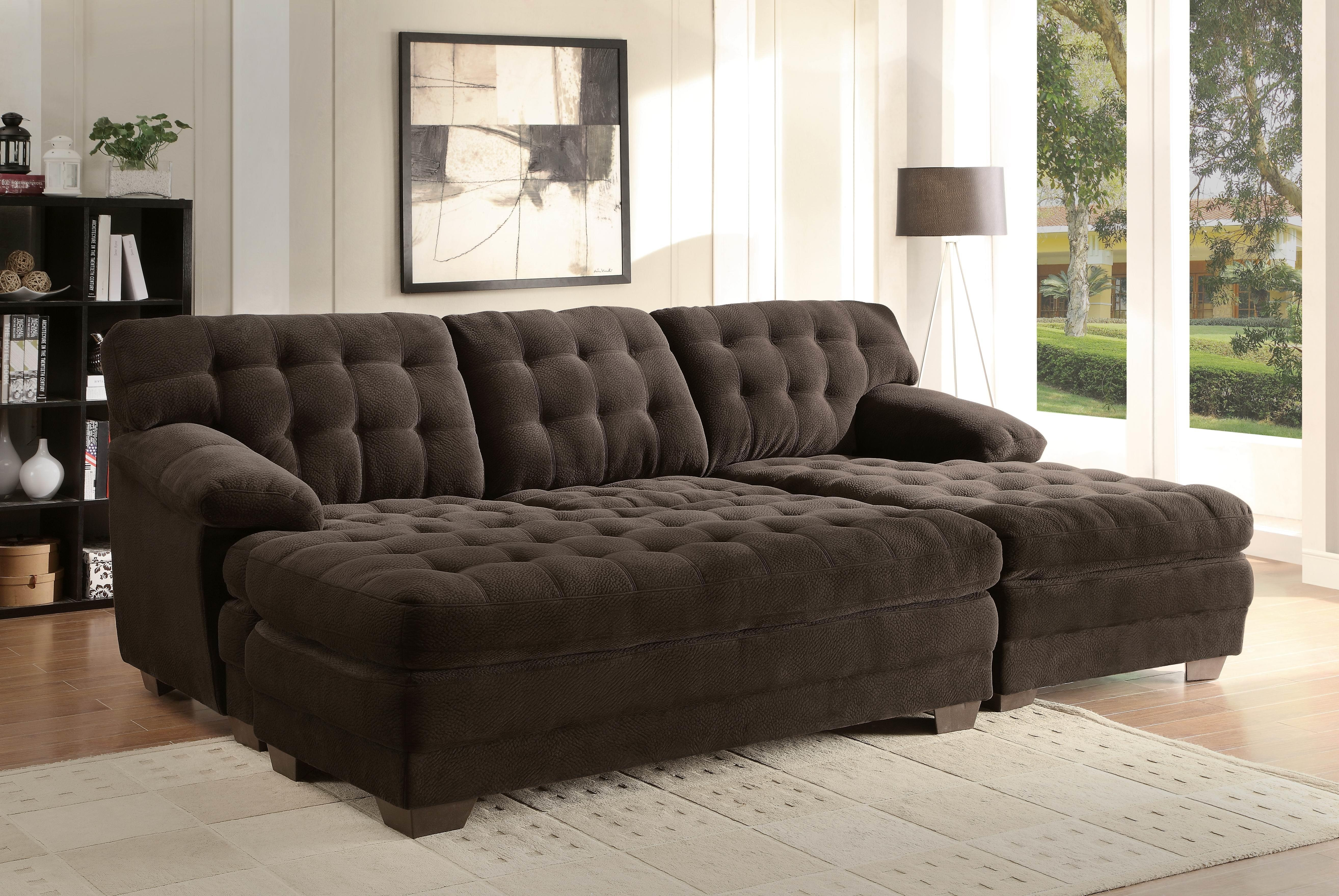 Decor Artificial Classic Corduroy Sectional Sofa For Unique In Extra Wide Sectional Sofas (#4 of 12)