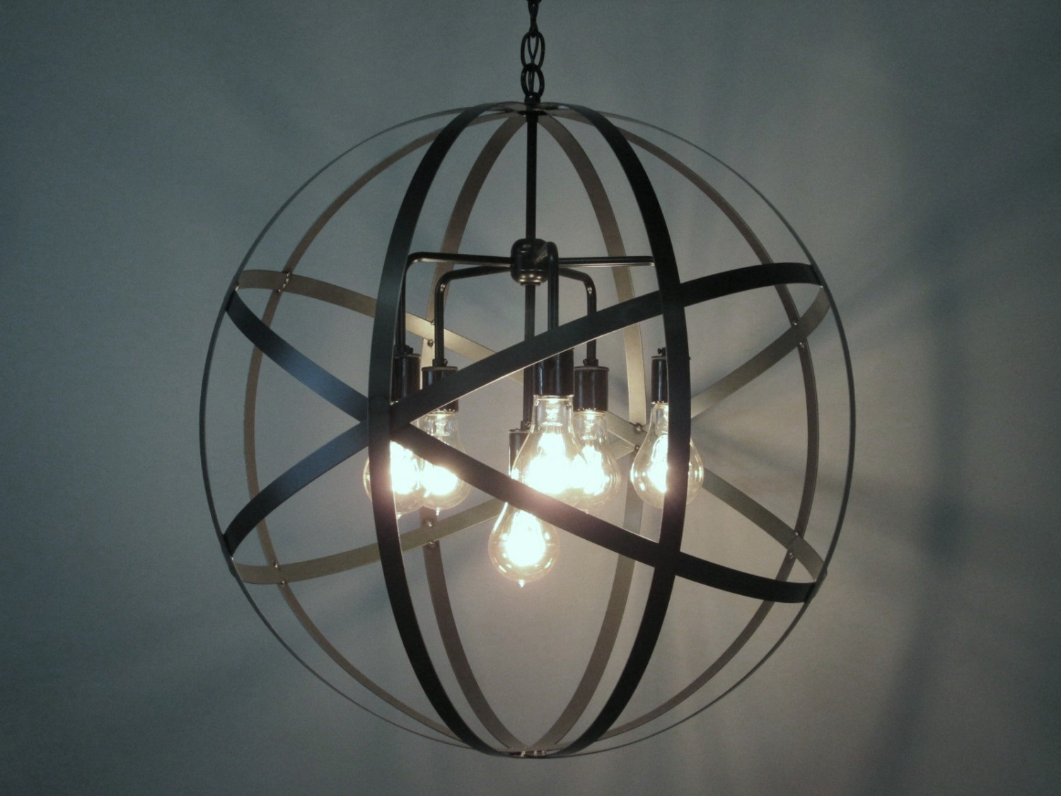 Decor Sphere Chandelier Is One Of The Best Light Fixture And For Sphere Chandelier (#8 of 12)