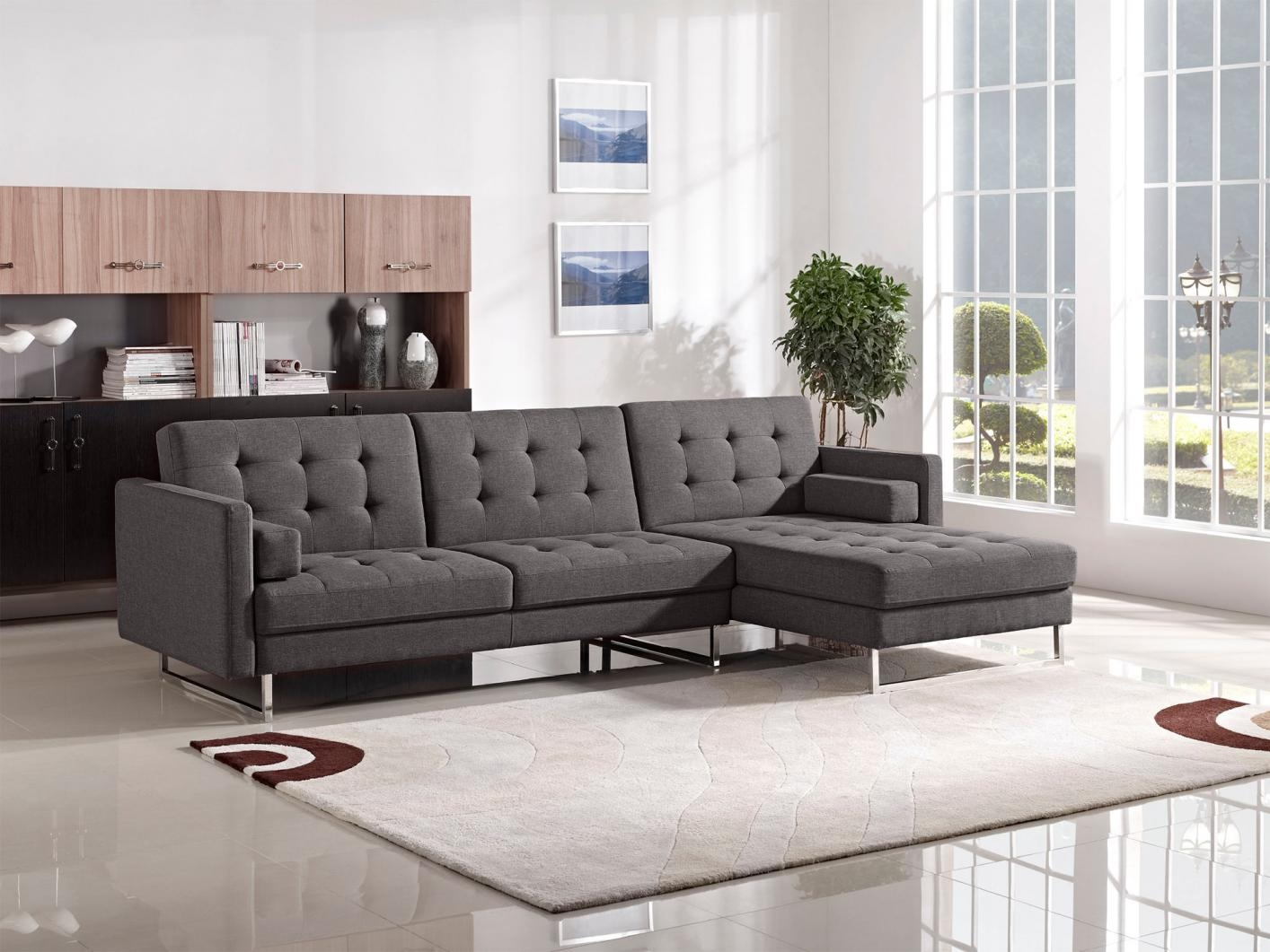 Popular Photo of Fabric Sectional Sofa