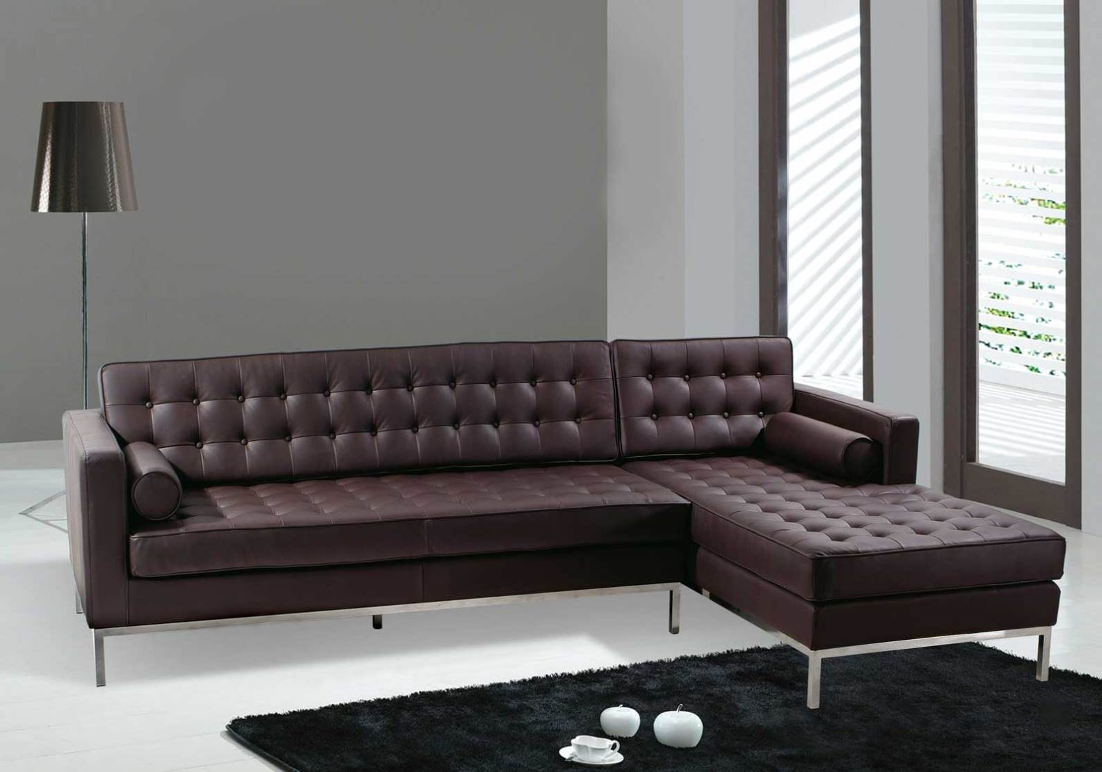 Dobson Leather Modern Sectional Sofa Style Furniture 2017 Photo Blog For Dobson Sectional Sofa (#4 of 12)