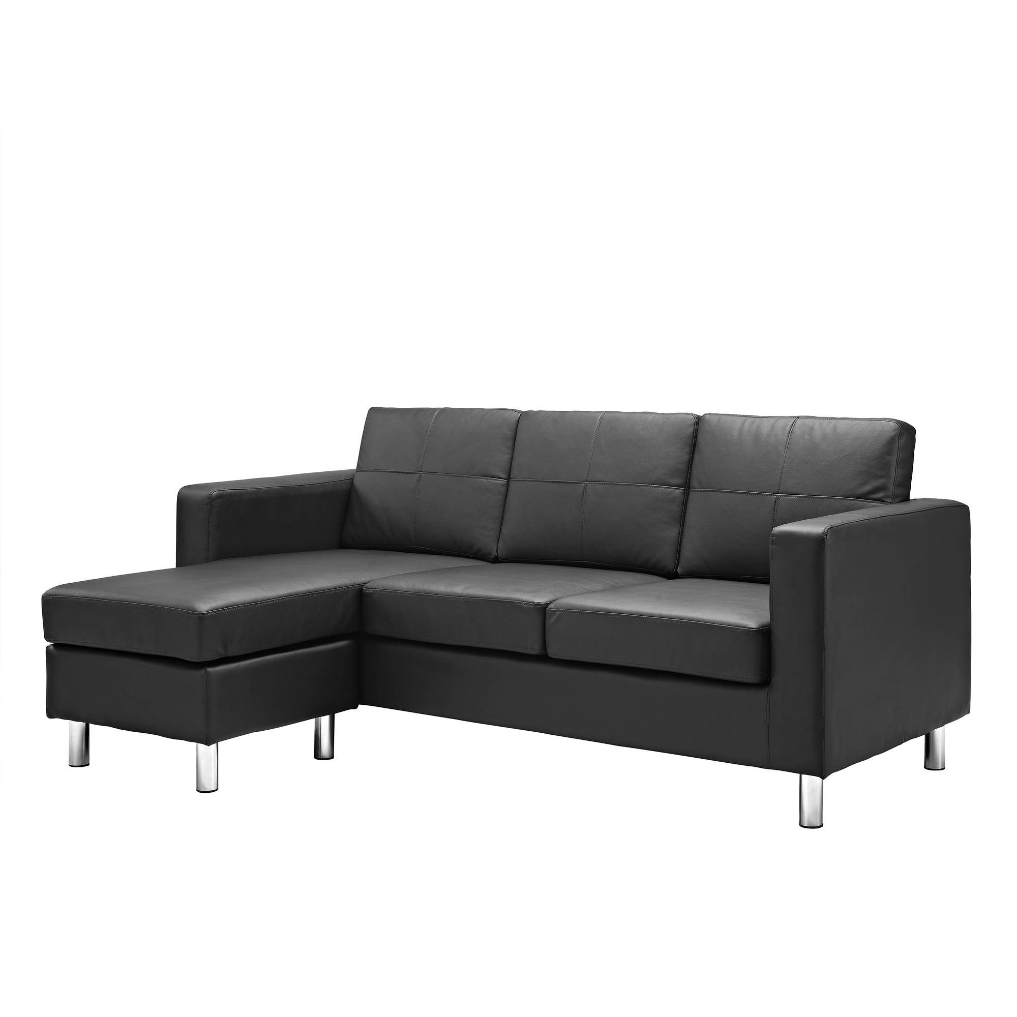Dorel Living Small Spaces Configurable Sectional Sofa Multiple Throughout Compact Sectional Sofas (#5 of 12)
