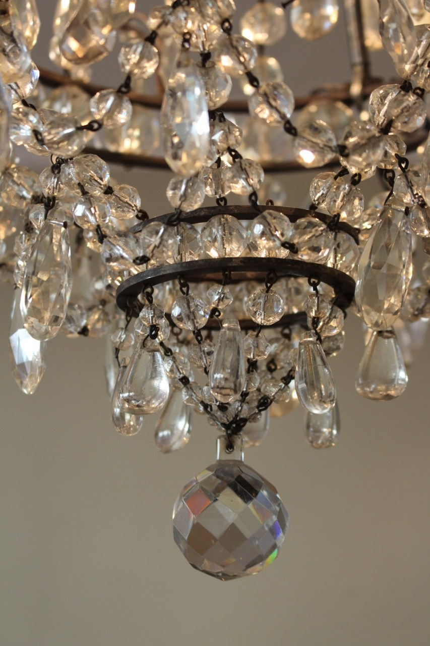 Popular Photo of French Glass Chandelier