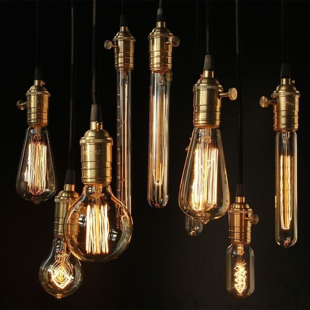 Edison Light Chandelier Uk Roselawnlutheran Throughout Vintage Style Chandeliers (#7 of 12)
