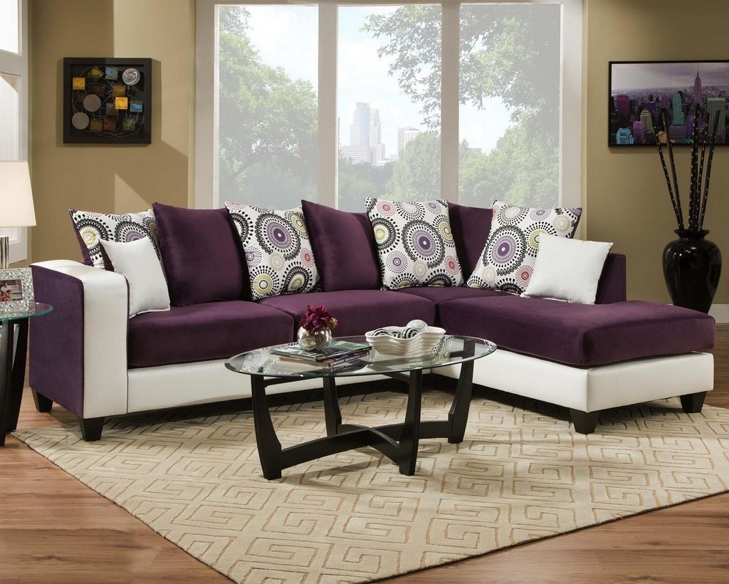 Eggplant Sectional Sofa All Information Sofa Desain Ideas Throughout Eggplant Sectional Sofa (#3 of 12)