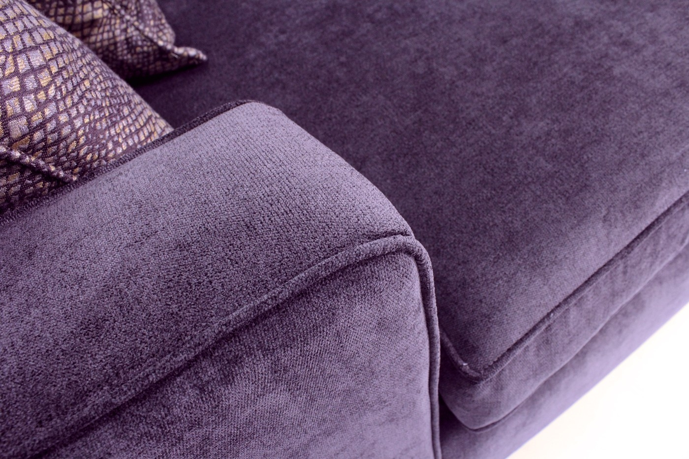 Popular Photo of Eggplant Sectional Sofa