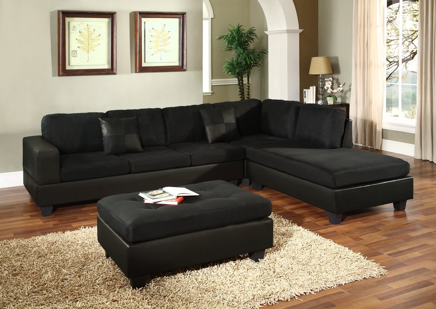 Eggplant Sectional Sofa Goodca Sofa For Eggplant Sectional Sofa (#8 of 12)