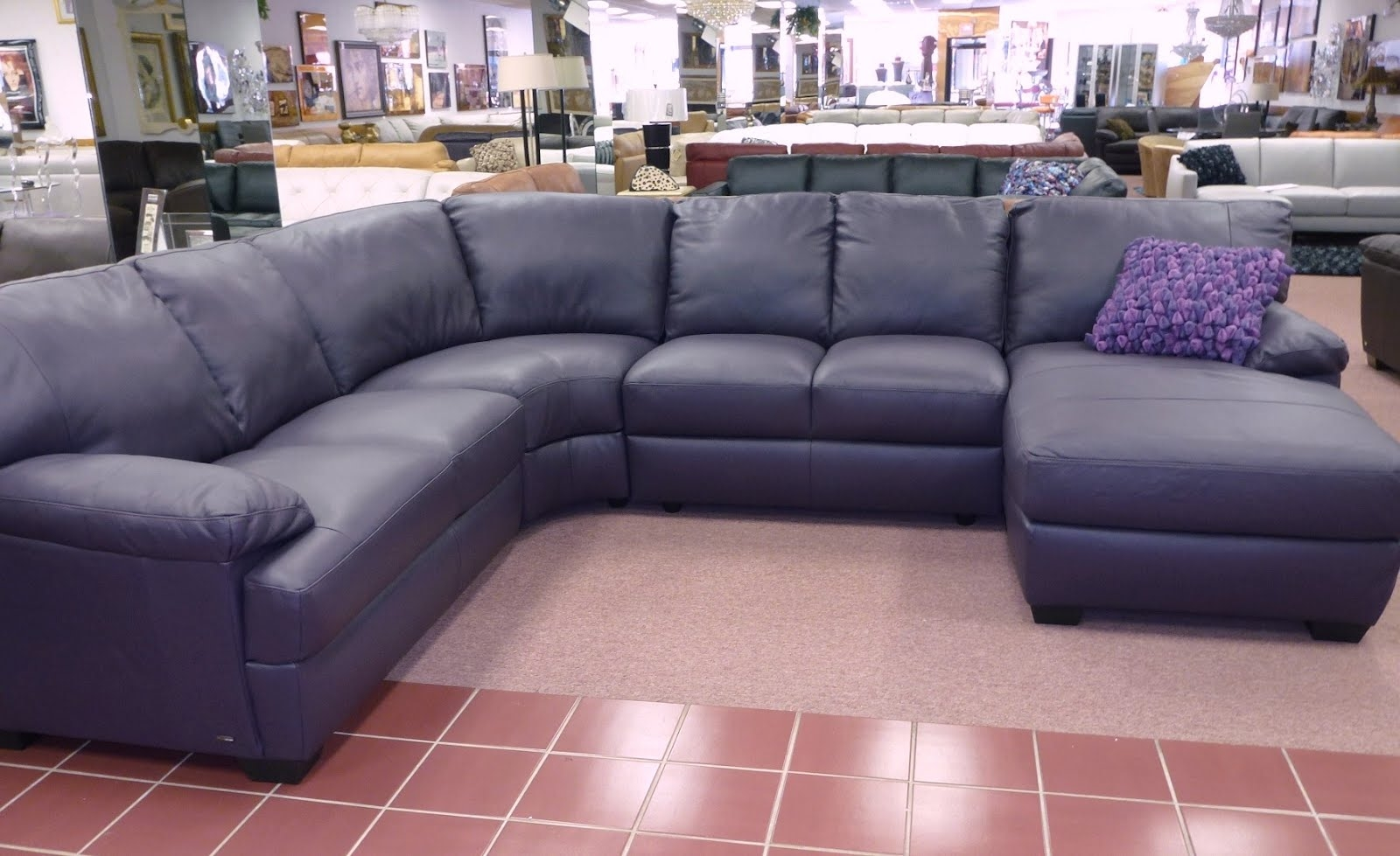 Eggplant Sectional Sofa Hotelsbacau For Eggplant Sectional Sofa (#9 of 12)