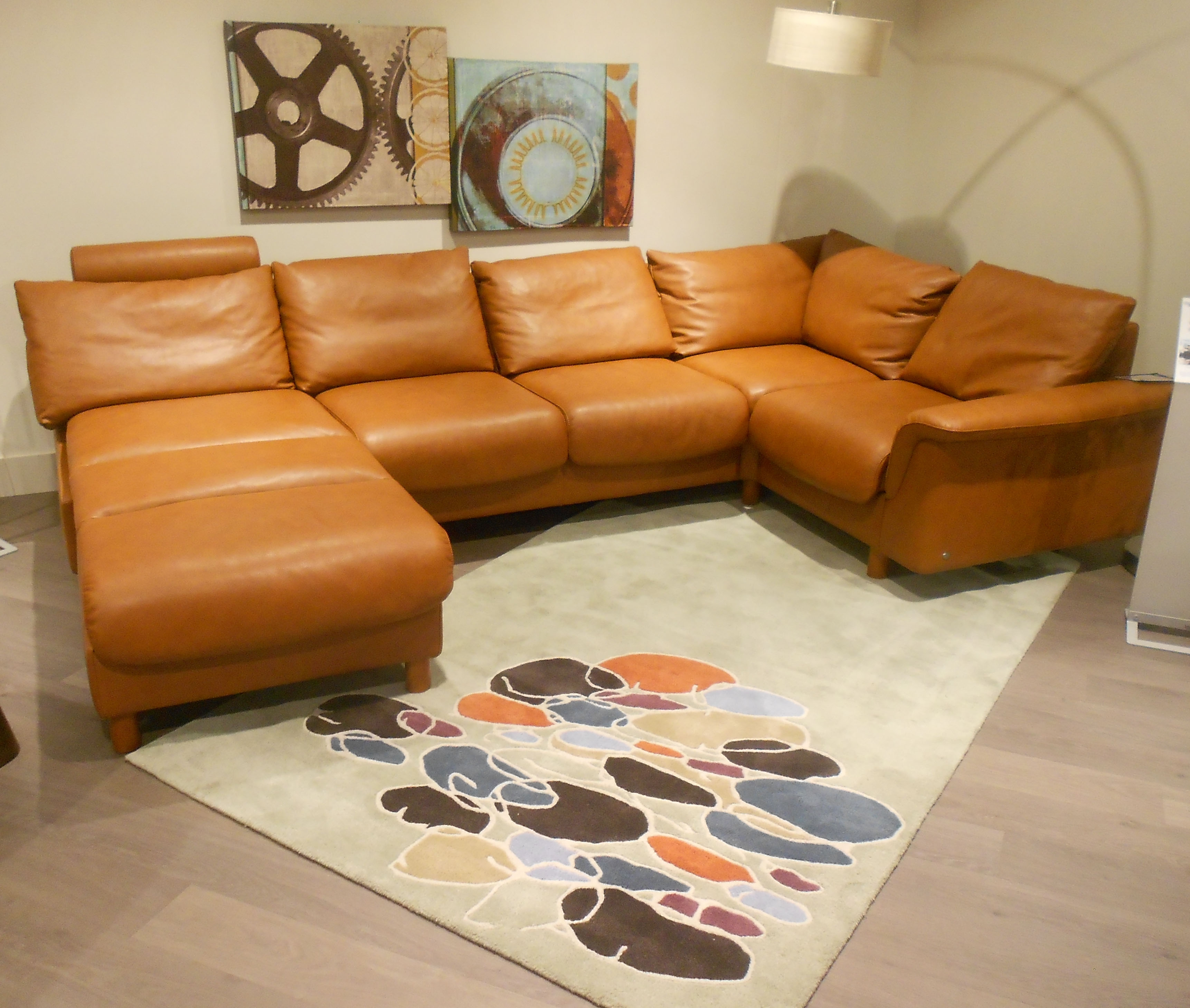 Ekornes Stressless E300 Matching Back Cushion And Frame With Regard To Ekornes Sectional Sofa (#7 of 12)