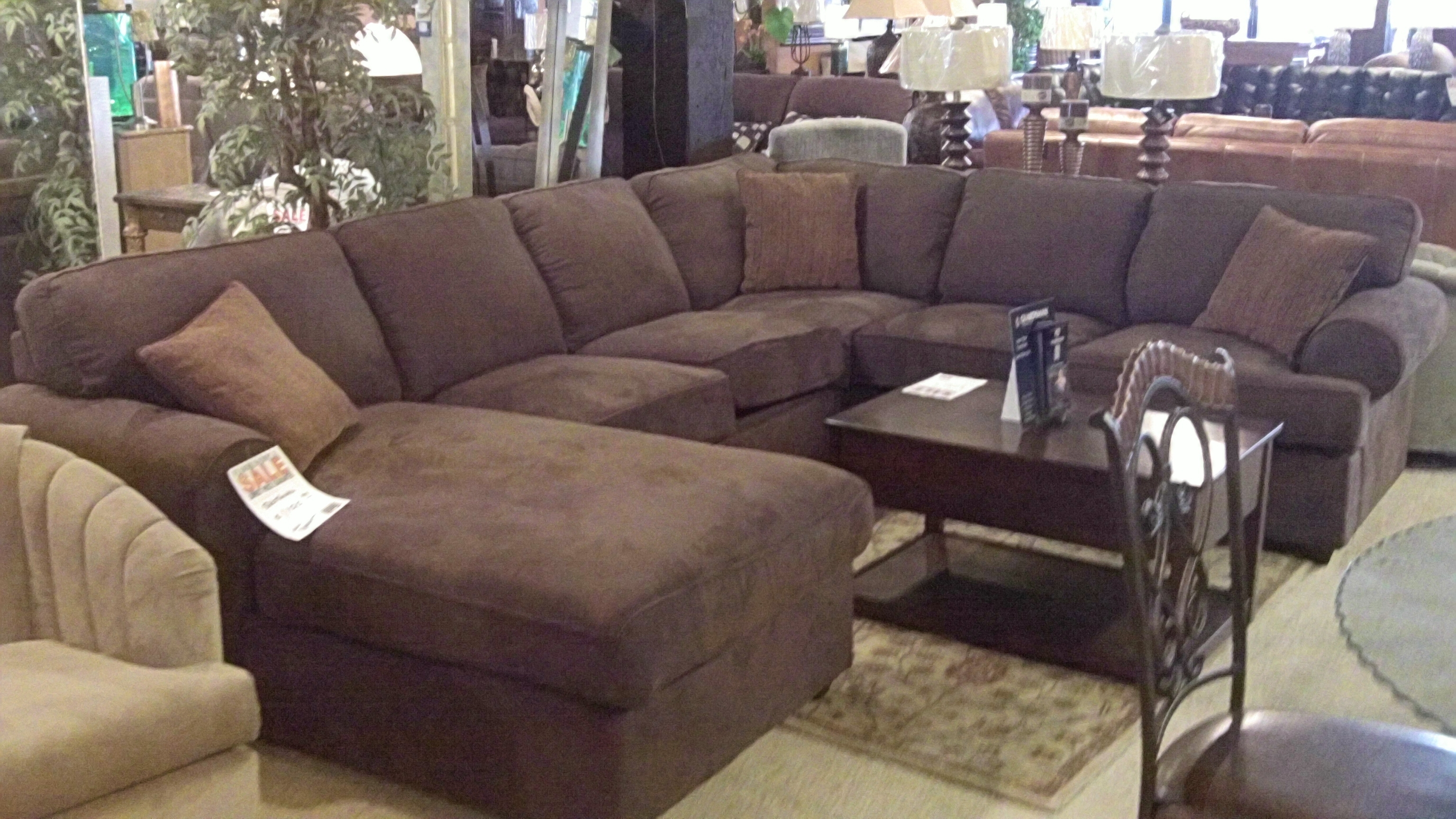 Elegant Large Sectional Sofas With Recliners 94 In Curved In Curved Sectional Sofa With Recliner (#7 of 12)