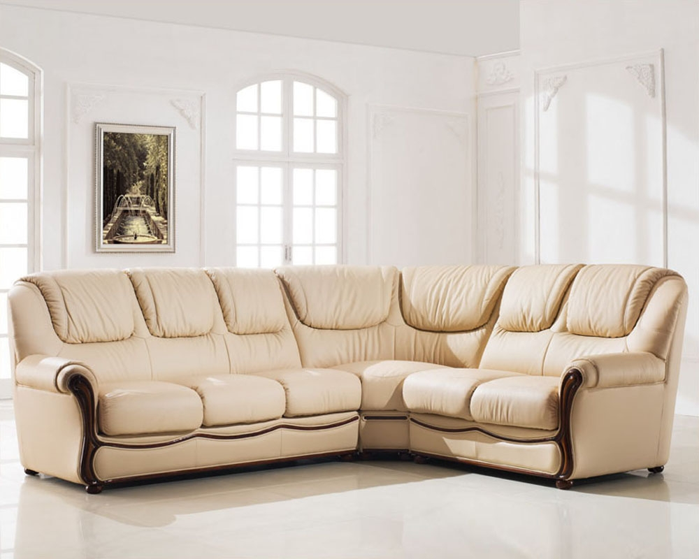 Elegant Sectional Sofa Set With Sleeper Esf102 With Elegant Sectional Sofas (View 8 of 12)
