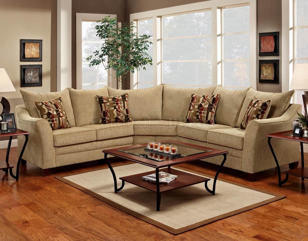 Elegant Sectional Sofas And Chocolate Fabric Modern Elegant With Regard To Elegant Fabric Sofas (#8 of 12)