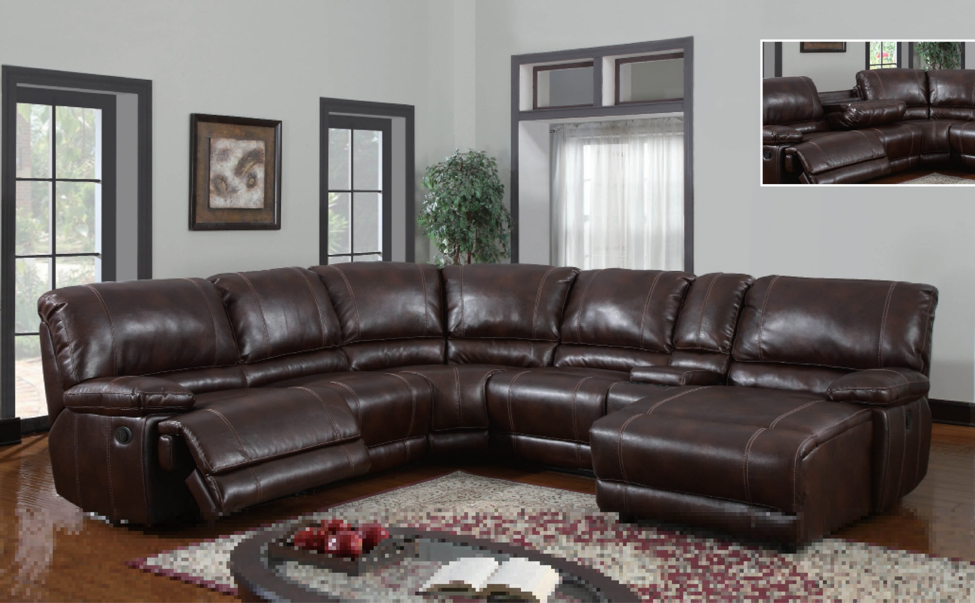 Elegant Sectional Sofas With Chaise And Recliner 36 For Your Small Throughout Elegant Sectional Sofas (View 11 of 12)